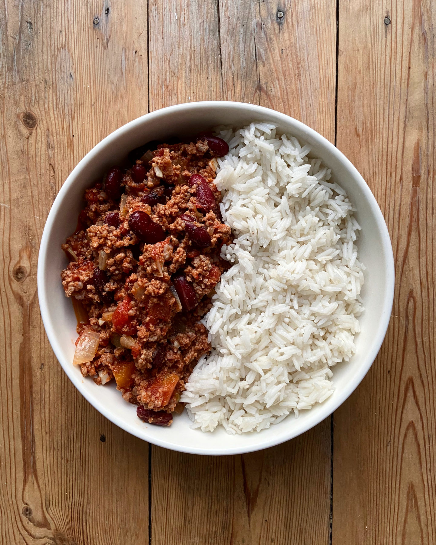 CHILI CON CARNE HEALTHY