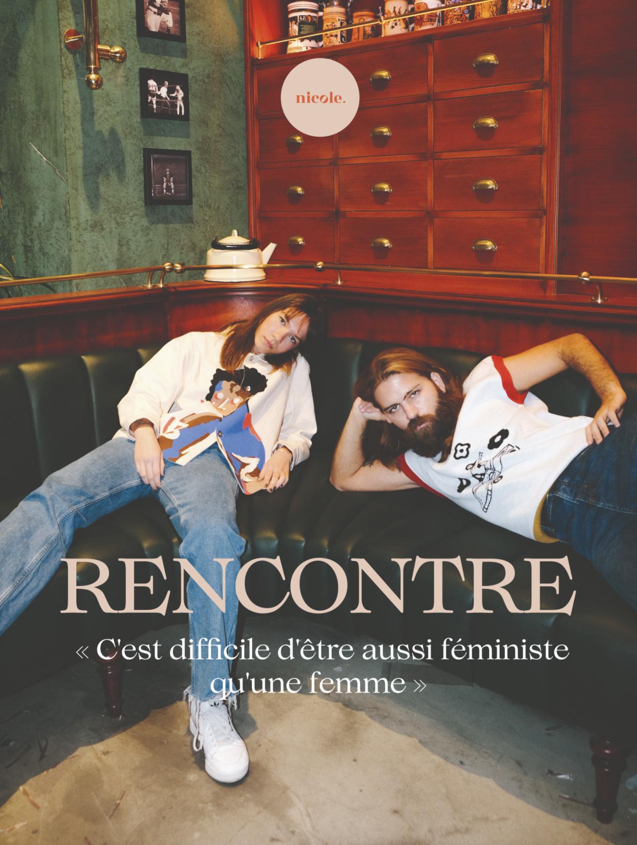 RENCONTRE AVEC MANU, ROBIN ET LIONEL: « C'EST DIFFICILE D'ÊTRE AUSSI FÉMINISTE QU'UNE FEMME »